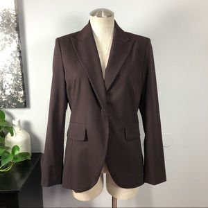 Worthington dark brown blazer Sz 4